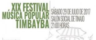 Folk music festival 'XIX FESTIVAL DE MÚSICA POPULAR TIMBAYBA'