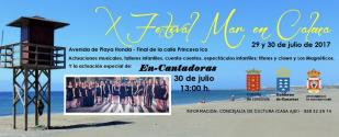 X Festival Mar en calma