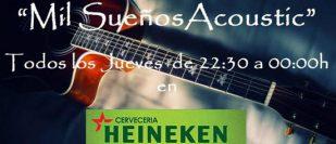 Mil Sueños Acoustic en Cervecería Heineken